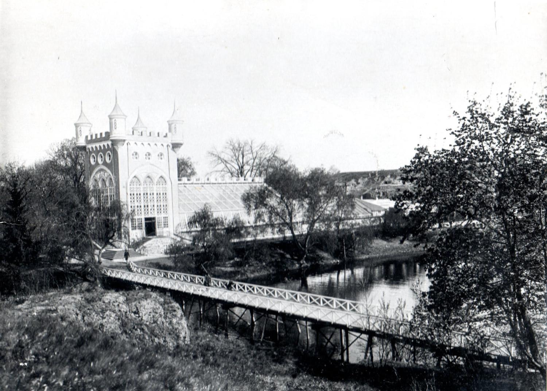 Оранжерея. Фото 1898 року