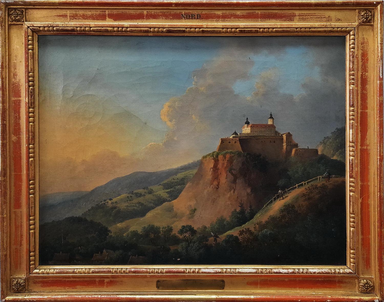 Сигізмунд Бубікс. Форхтенштайн. Схід. 1869