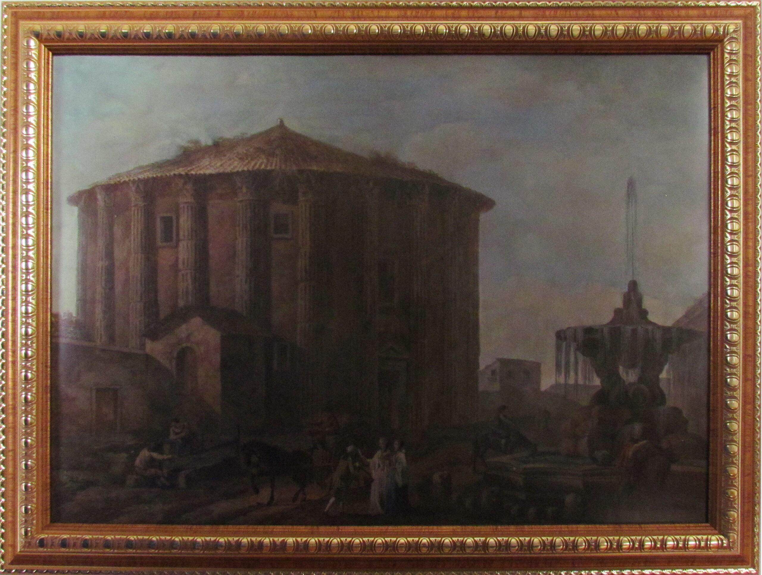 Сошенко І.М. Картина. Храм Вести – стародавній італійський круглий храм у Римі. Друга половина ХІХ ст.