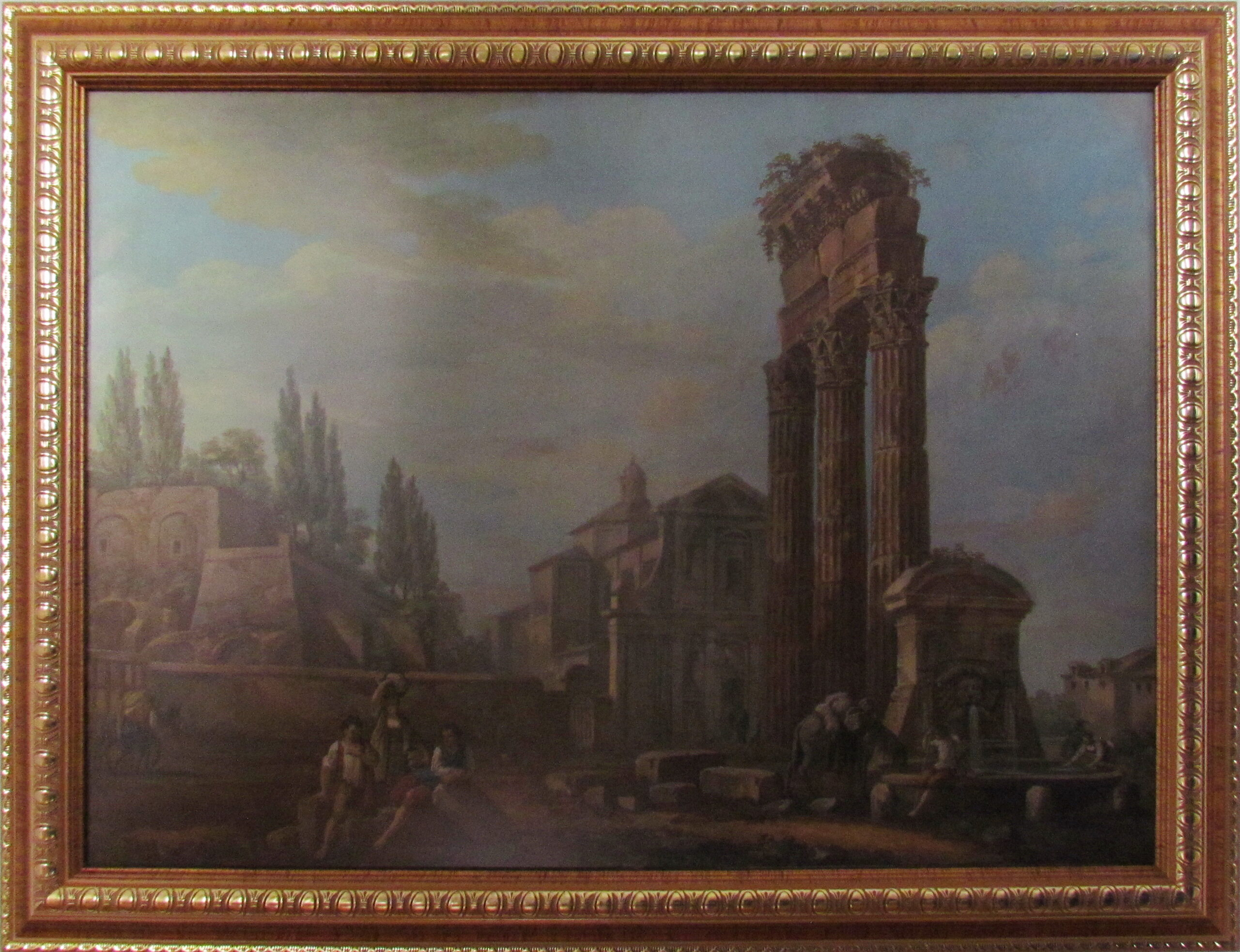 Сошенко І.М. Картина. Форум Юлія в Стародавньому Римі. Друга половина ХІХ ст..