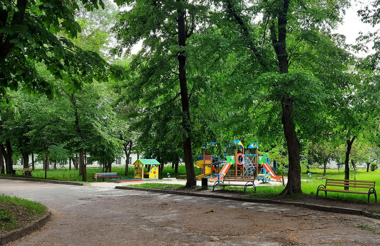 Дитячий майданчик. Світлина Ірини Коваленко